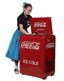 Retro Coke Cooler coka cola
