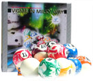 vigma virgin pearl billiard balls