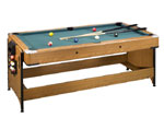 It Has Two Locking Levers At Each End To Incorporate A Sure Locking System  For The Table Top. Easy To Adjust Leg Levelers Keep The Playing Surface  Nice And ...