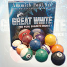 Aramith Great White pool balls