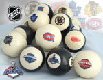 NHL Original Six Billiard Balls