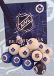 NHL Toronto Maple Leafs Billiard Balls