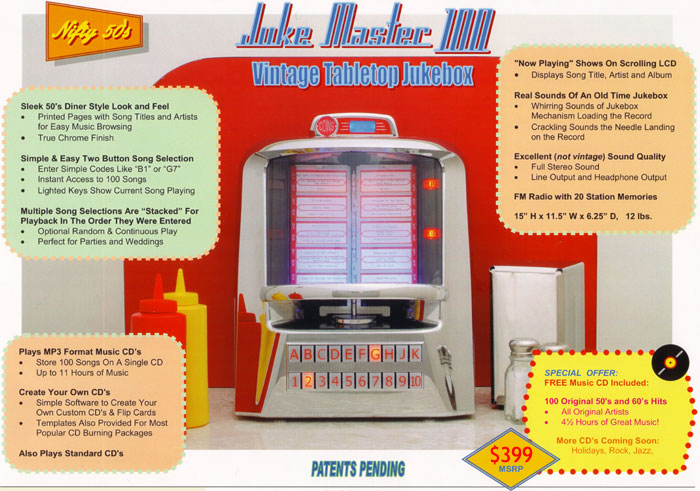 JukeMaster 100 Vintage Music