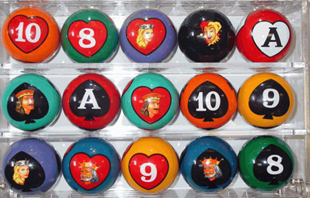 Poker Pool Billiard Balls