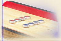 Shuffleboards, Table Curling