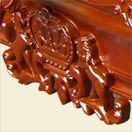 solid hardwood pool table billiard table russian oak - Royal coat 