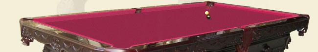 solid hardwood pool table billiard table russian oak