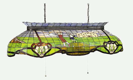 Stained Glass Billiards Light Golf