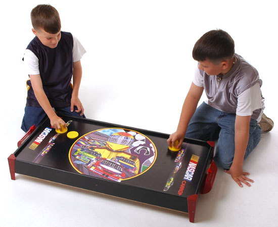 PlayingPremium Air Hockey Table Officially Licensed by NASCAR® home games