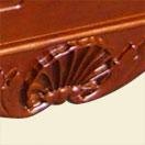 solid hardwood pool table billiard table russian oak - iniature lion heads