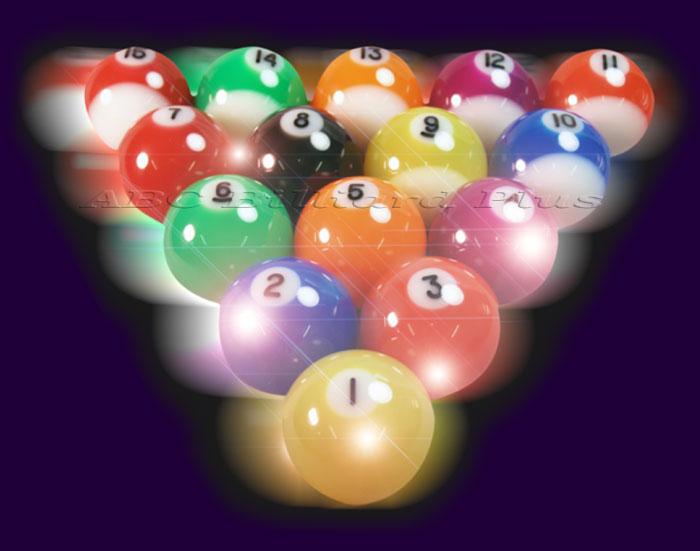 Disco Pool Balls Light Up Disco Billiard Balls Ebay