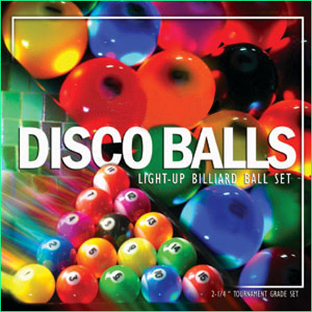 Disco Balls billiard balls
