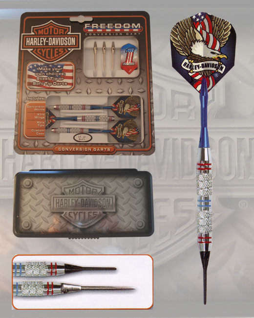 Harley-Davidson Freedom conversion Darts. Category: Darting, Darts