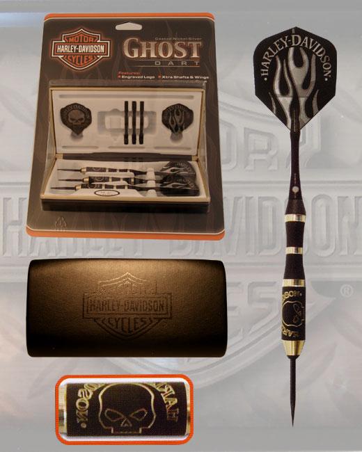 Harley-Davidson Ghost Dart  Set - darting, darts
