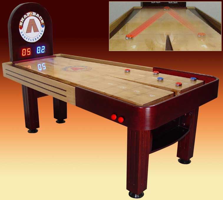 Rebound Shuffle Boards Rebound Shuffleboards Indoor Games