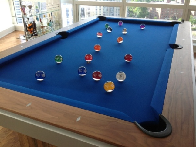 Personalized Clear Pool Balls Billiard Balls Montreal - Clear pool table
